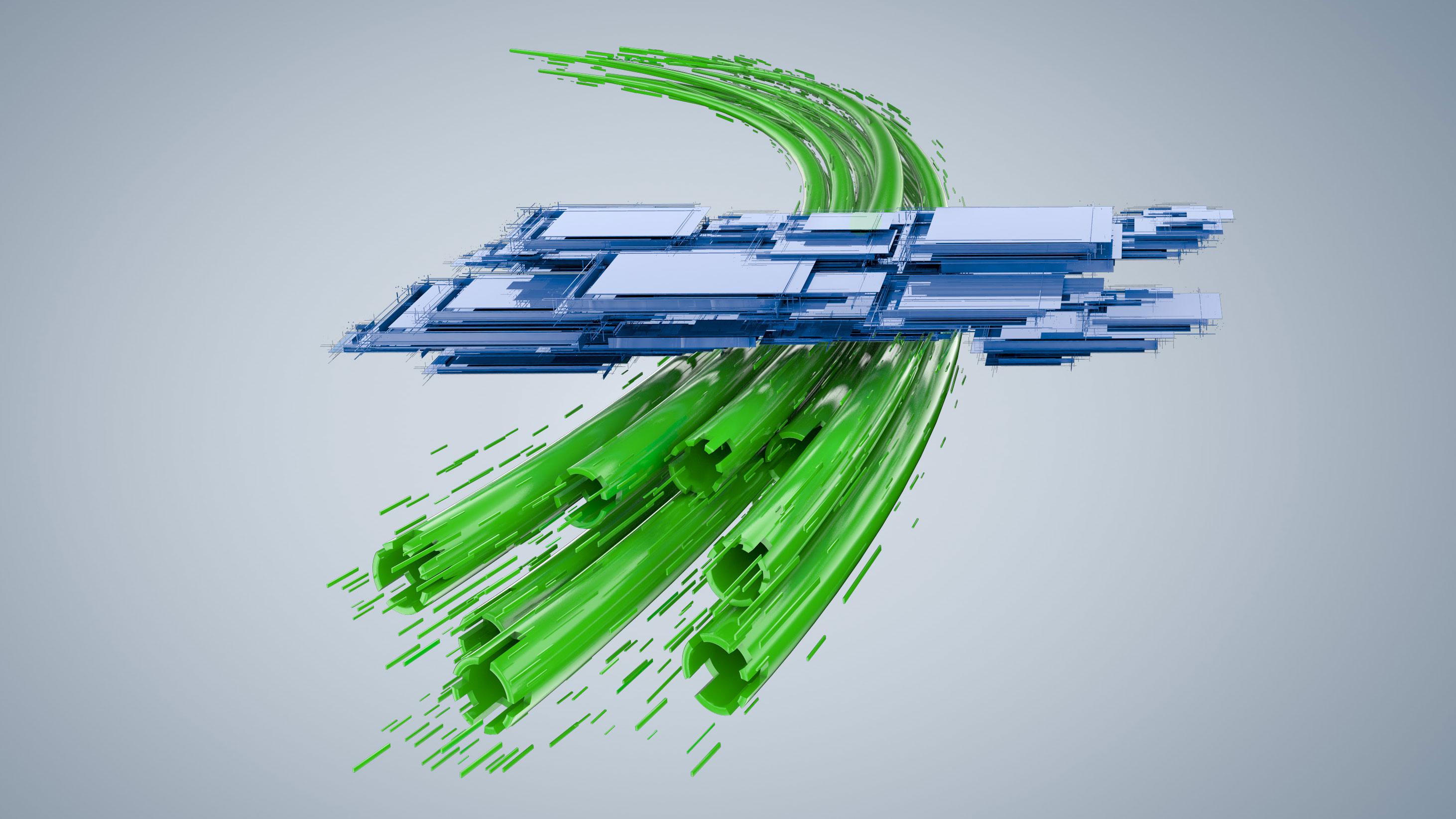 CGI Rendering 3d Innotrans Logo Messe Schienen Transformation Idris Kolodziej