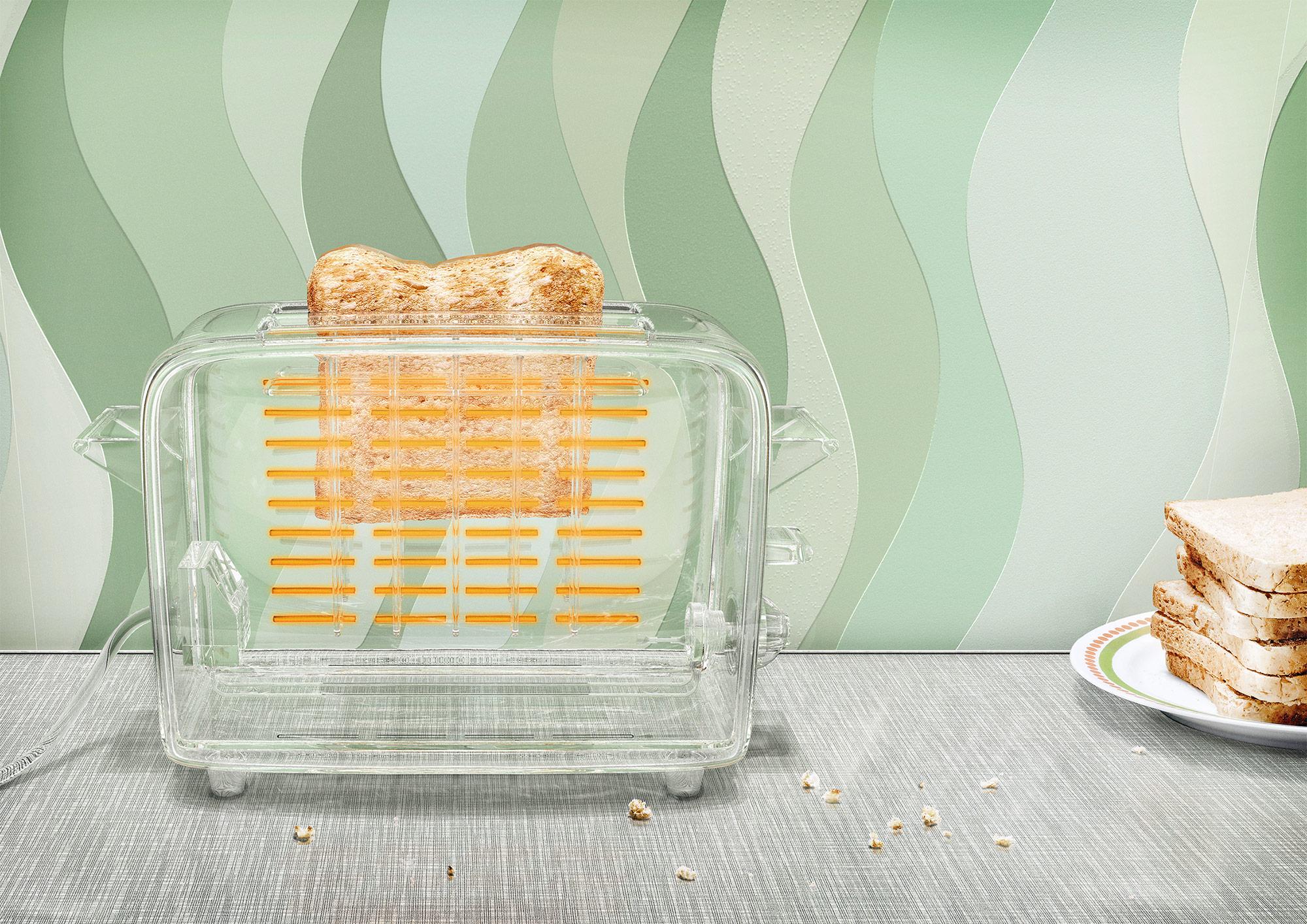 CGI Rendering 3d BMWI Energie transparent Toaster Idris Kolodziej
