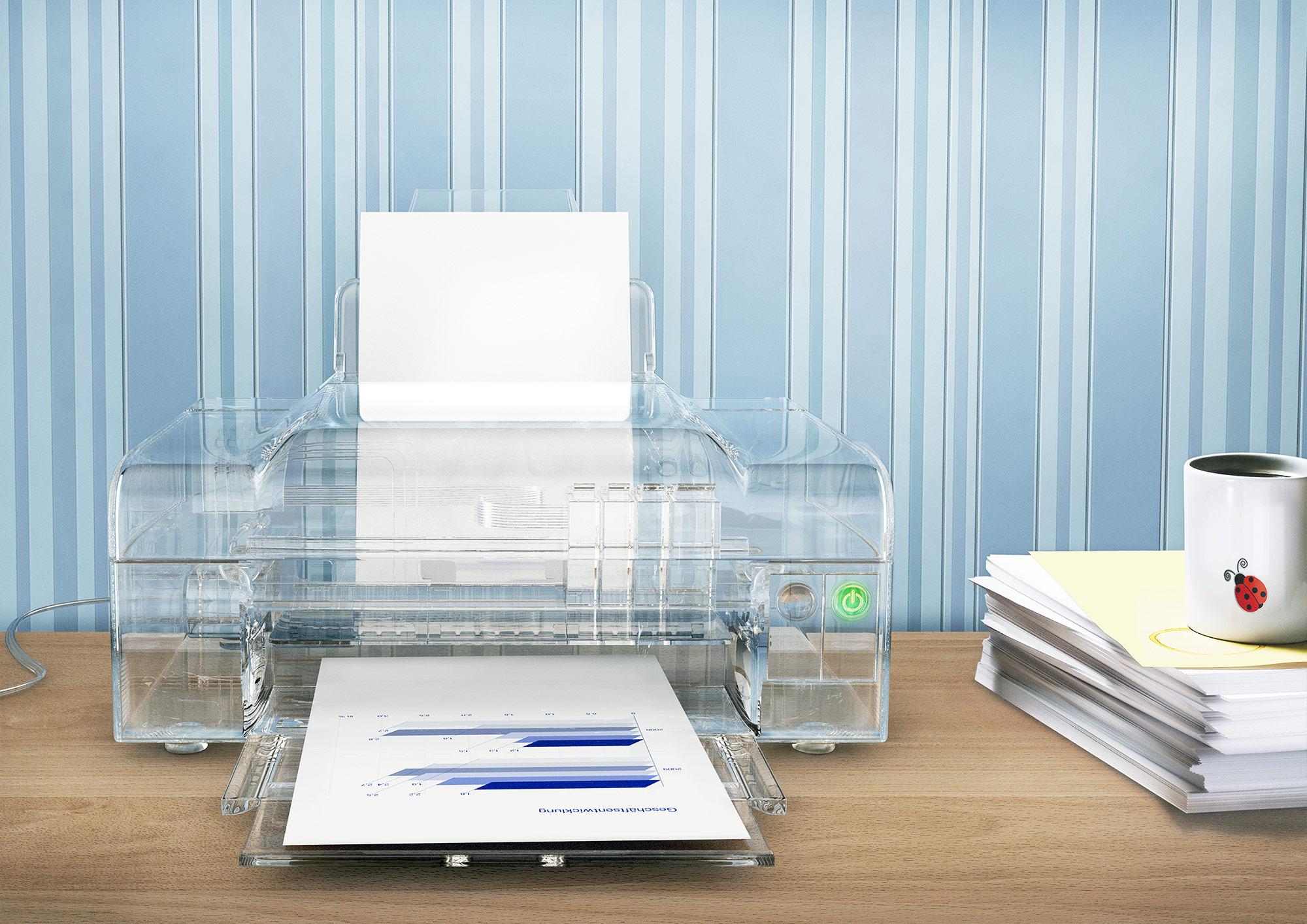 CGI Rendering 3d BMWI Energie transparent Drucker Idris Kolodziej
