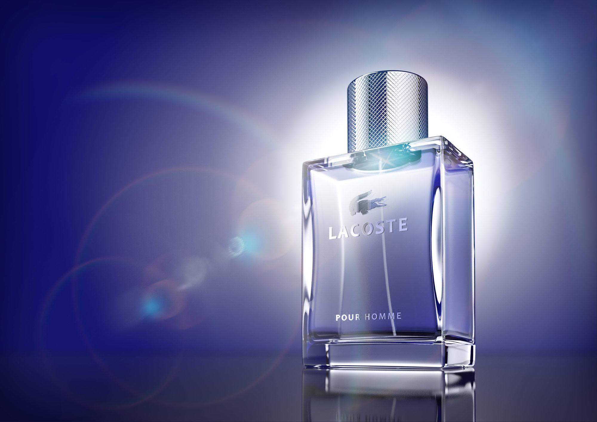CGI Rendering 3d Lacoste Pour Homme Perfume Perfum Fragrance Kosmetik Cosmetics Pharma Idris Kolodziej