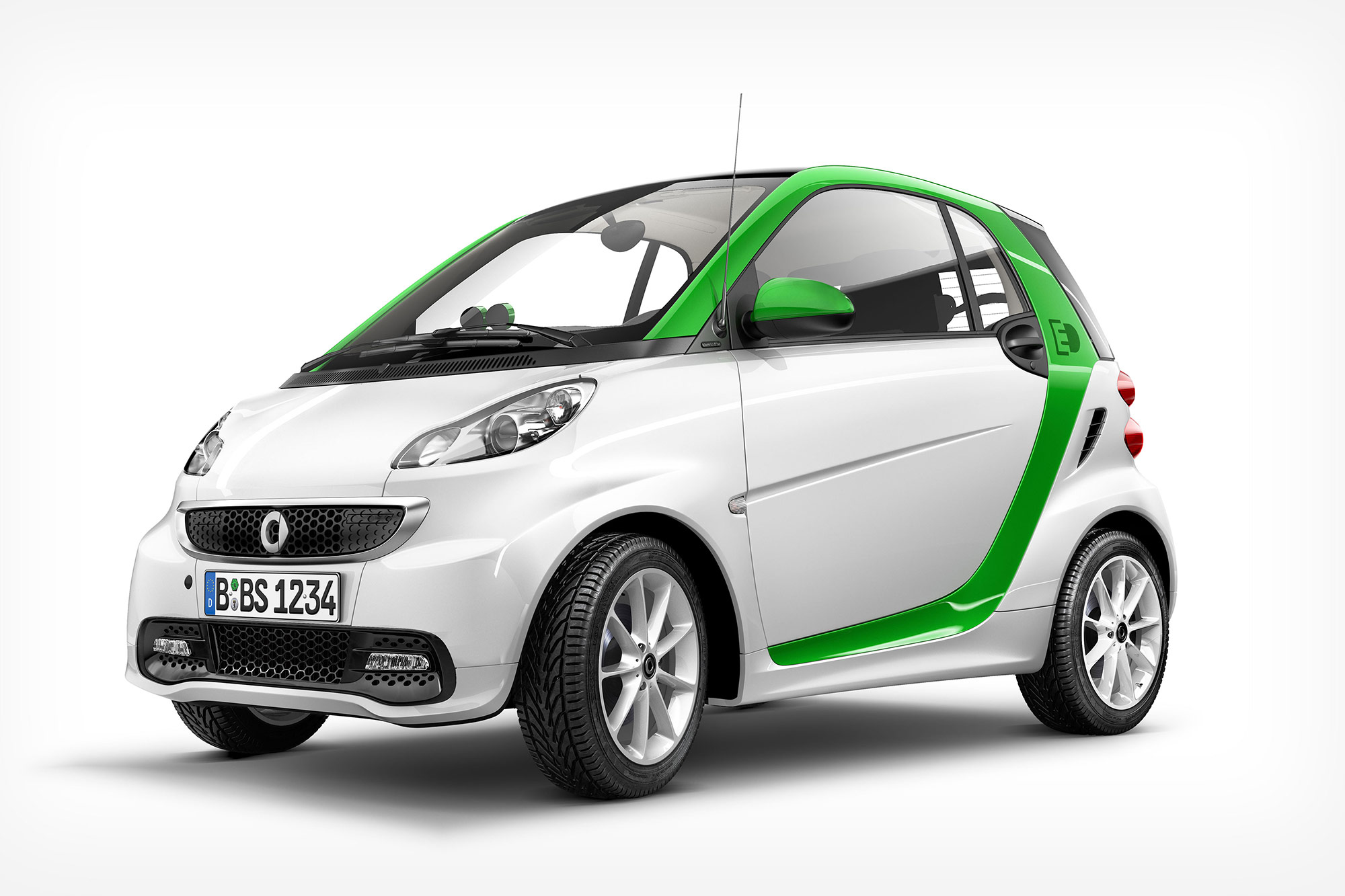CGI Rendering 3d Smart Fortwo Electric Drive Tansportation Auto Studio Front Idris Kolodziej