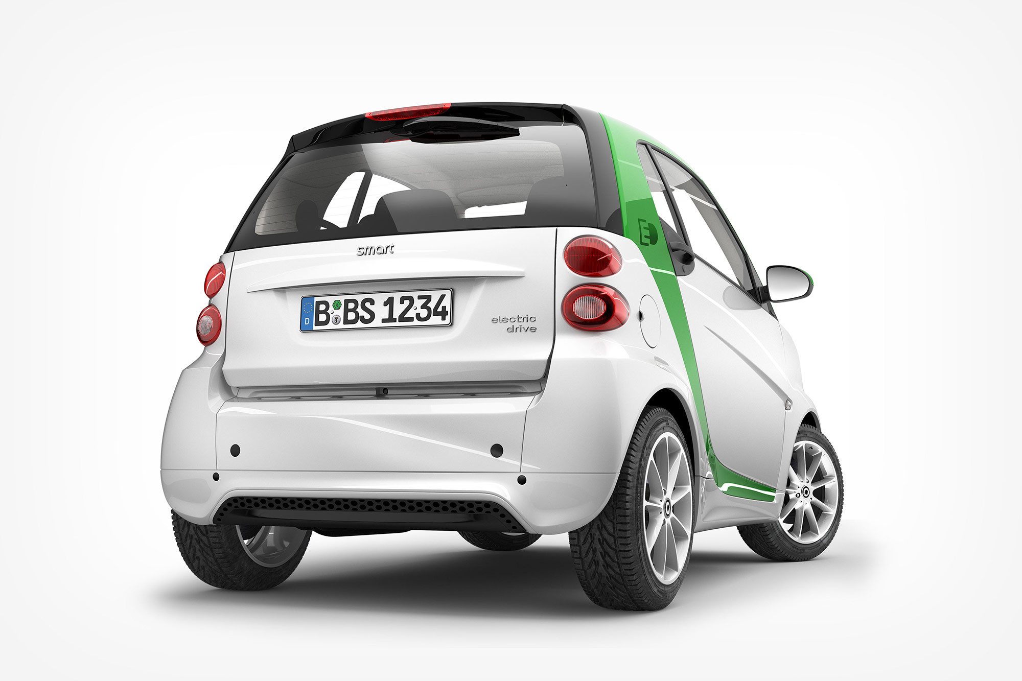CGI Rendering 3d Smart Fortwo Electric Drive Tansportation Auto Studio Heck Idris Kolodziej