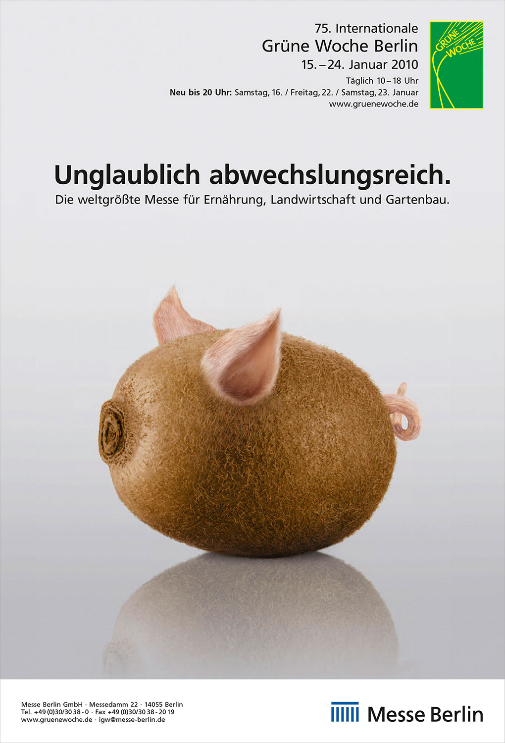 Advertising Photographie Still Life Composing Internationale Grüne Woche Messe Kiwi Schwein Ohren unglaublich abwechslungsreich Idris Kolodziej