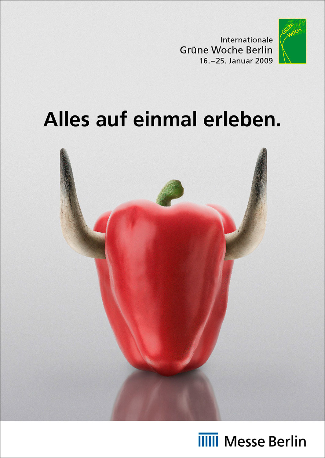 Advertising Photographie Still Life Composing Internationale Grüne Woche Messe Paprika Hörner Erleben Idris Kolodziej