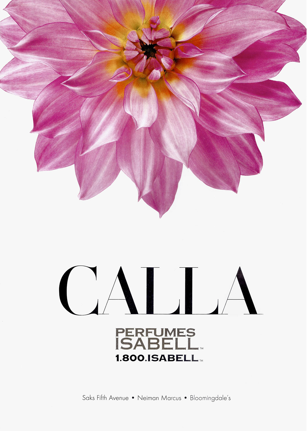 Advertising Still life Photographie Fotografie Studio Perfumes Isabel New York Calla Blume Flower Idris Kolodziej