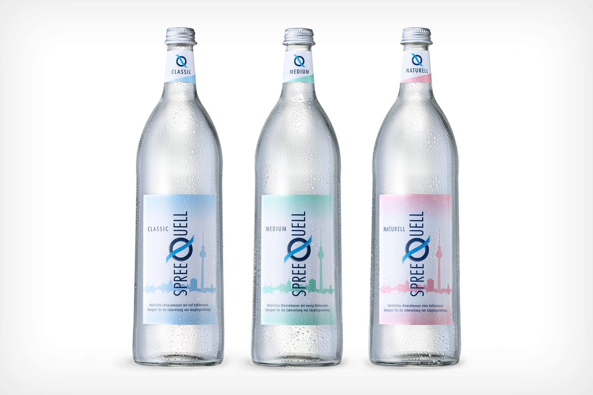 Still life Photographie Fotografie Studio Spreequell Liquids Mineralwasser Flasche Glas Betauung Idris Kolodziej