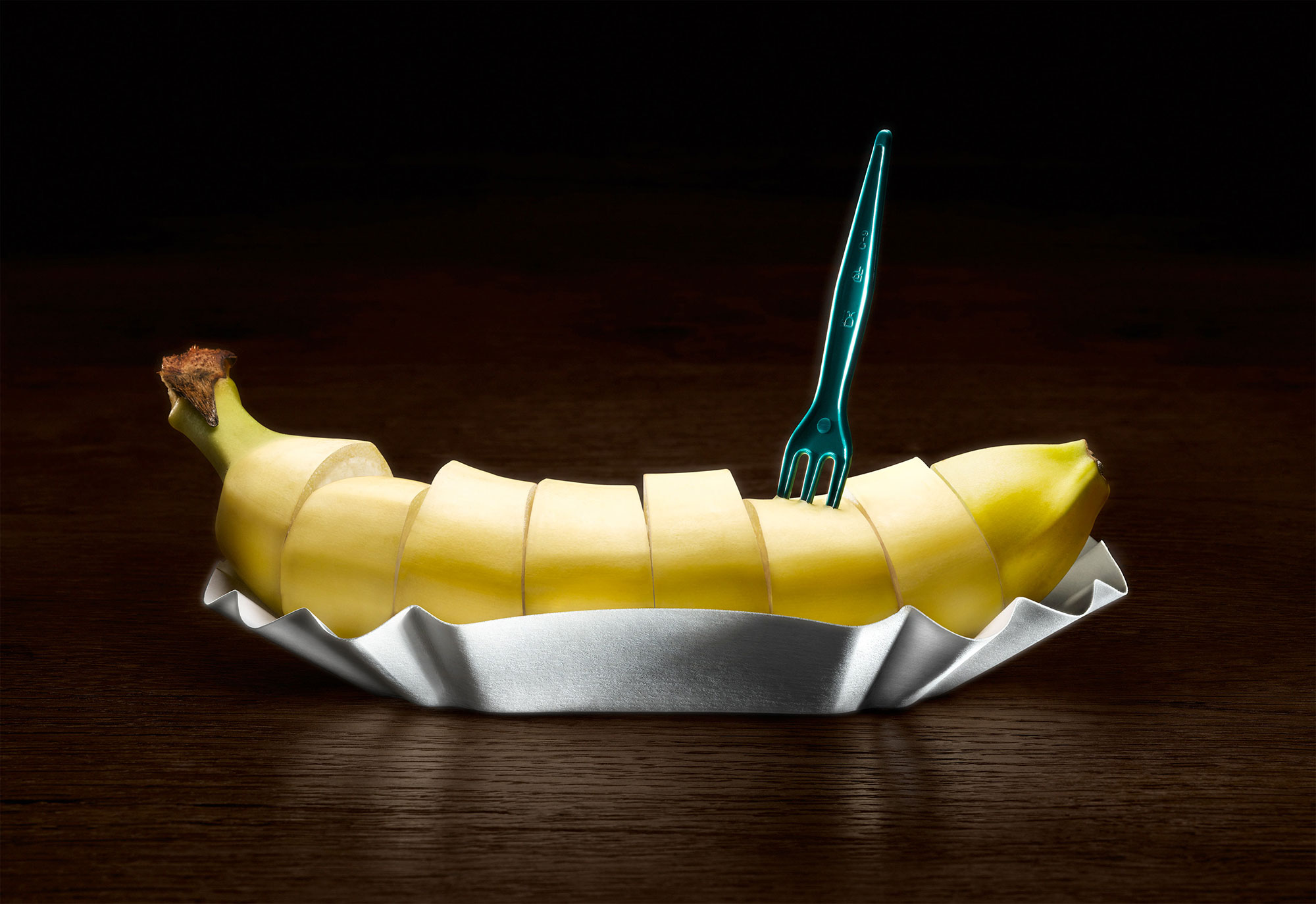 Still life Photographie Fotografie Studio Weilands Wellfood Banane Currywurst Idris Kolodziej